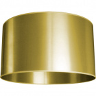 Lampshade MONTENEGRINO round large M10 (lira) H.30xD.50cm Gold