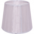 Lampshade AUSTRALIANO round & conic with clamp H.10xD.12cm White