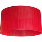 Lampshade NEOZELANDÊS round large M10 (lira) H.30xD.57cm Red