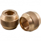 Brass ring for telescopic tube