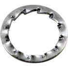 Metal knurled washer D.14,5x0,5mm, hole 10,5mm