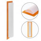 Wall Lamp BELMIRA 1xG9 L.12,5xW.6xH.44cm White/Orange