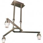 Frame for Ceiling Lamp DUBAI 3xE14 H.Reg.xD.46cm Antique Brass