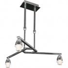 Frame for Ceiling Lamp DUBAI 3xE14 H.Reg.xD.46cm Chrome