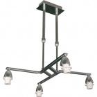Frame for Ceiling Lamp DUBAI 4xE14 L.44xW.48xH.Reg.cm Chrome
