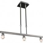 Frame for Ceiling Lamp SYDNEY 3xE14 L.58xW.12xH.Reg.cm Chrome