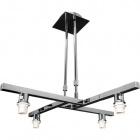 Frame for Ceiling Lamp SYDNEY 4xE14 L.60xW.60xH.Reg.cm Chrome