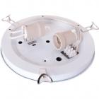 Base for Plafond VIGO round 2xE27 H.6xD.30cm White