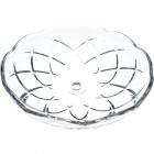 Crystal bobech D.12cm central hole 10mm+ 5 sides transparent