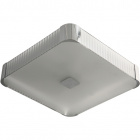 Plafond LIZETE square 6xE27 L.54xW.54xH.10cm Grey/Chrome