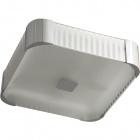 Plafond LIZETE square 4xE27 L.39xW.39xH.11,5cm Grey/Chrome