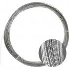 Cabo aço zincado 0,6mm 7 fios (CRD*0.6X7)