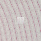 Flexible round fabric covered electrical cable H03VV-F 2x0,75 D.6.8mm sprout TO437