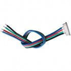 Conector FITA/CABO LED 10mm n/estanq. p/ 14,4W RGB
