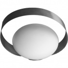 Table Lamp ARGONN 1xG9 L.28xW.20xH.20cm White/Satin Nickel