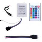 Controlador IR p/fita LED RGB 12 6A 72W Branco