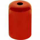 E27 cover for lampholder metal orange