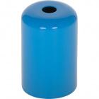E27 cover for lampholder metal blue