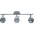 Wall Lamp ARTUR 3xGU10 L.50xW.11xH.17cm Grey