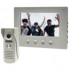 Video porteiro MOZART monitor a cores prata