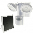 Floodlight VIVALDI with sensor and solar panel IP44 2x1,2W LED 500lm 5483K L.18,7xW.12xH.20cm White