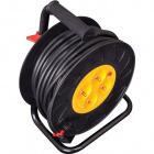 Enrolador de cabo 4tom. 25m c/limitador térmico Pr