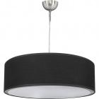 Pendant Light PLANETÁRIO 1xE27 H.Reg.xD.50cm Black/Satin Nickel