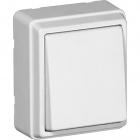 Interruptor unipolar branco