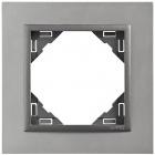Espelho simples LOGUS 90 alumina/cinza
