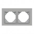 Espelho duplo LOGUS 90 ANIMATO alumina/alumina