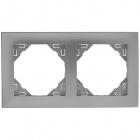 Espelho duplo LOGUS 90 alumina