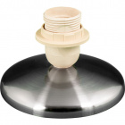 Base for Table Lamp MANILA 1xE27 H.9xD.13,5cm Satin Nickel