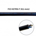 Flexible cable H07RN-F 3x1,0mm2 rubber black