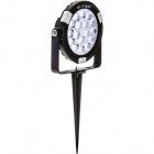 Spike Luminaire Mi-Light RGB IP65 1x9W LED 700lm 15°W.9H.13xD.11,5cm Aluminium Black