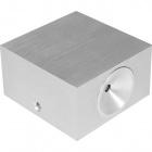 Wall Lamp EOS 1x3W LED L.8xW.8xH.4,5cm Aluminium
