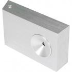 Wall Lamp ERIS 1x3W LED L.12,5xW.3xH.7cm Aluminium