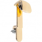 Golden metal hook without spring for plafon base