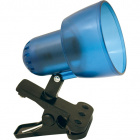 Table Lamp CLIP POP with spring 1xE14 L.8xW.14xH.15cm Blue