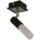 Wall Lamp BRUNO 1xGU10 L.7,5xW.17xH.10cm Wengue/Chrome