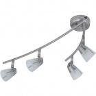 Wall Lamp RAFAEL 4xG9 L.53xW.20xH.14cm Satin Nickel