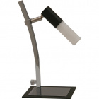 Table Lamp BRUNO 1xGU10 L.12xW.20xH.29cm Wengue/Chrome