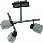 Ceiling Lamp DIOGO 3xG9 L.27xW.30xH.32cm Wengue/Chrome