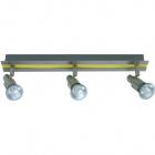 Wall Lamp GABRIEL 3xGU10 L.42xW.6xH.11cm Yellow/Satin Nickel