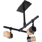 Ceiling Lamp AFONSO 3xG9 L.29xW.31xH.33cm Wengue