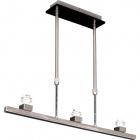Frame for Ceiling Lamp CRISTINNE 3xE14 L.65xH.Reg.Satin Nickel