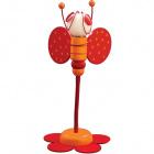 Table Lamp ABELHA 1xG4 12V H.46xD.24cm Orange/Red