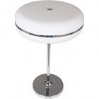 Table Lamp ODÉLIA 1x22WG5 T5 H.55xD.36cm White/Chrome