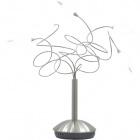 Table Lamp CLARA 5xG4 12V H.45xD.50cm Metal+Glass Satin Nickel
