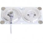 Módulo LED MAGNETIC 24W (2x12W) 3000K Branco