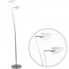 Floor Lamp AMÁLIA 2xG9 H.162xD.26cm Chrome